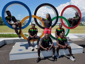 Ghana Athletics timetable at Tokyo Olympic Games