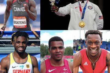 Five Ghanaian descendants competed at the Tokyo Olympic Games for different countries
