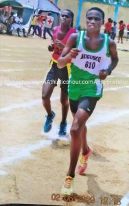 Isaac Mensah Assures I will be part of the top 3 athletes coming 25th September