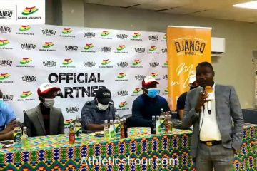 Official Ghana Athletics And Django Brothers Pen Down A Historic 3-year Partnership Deal