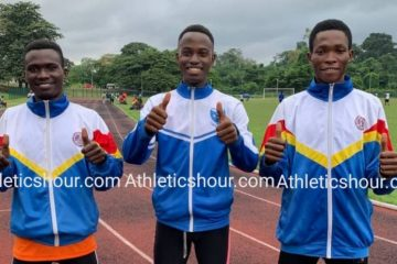 Jerry Frimpong, Sampson Tetteh and Emmanuel Tetteh Ready For Action On Saturday